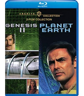 Genesis II (1973) / Planet Earth (1974) Blu-ray
