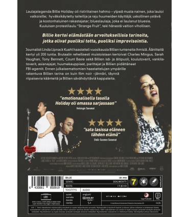 Billie (2019) DVD 31.3.