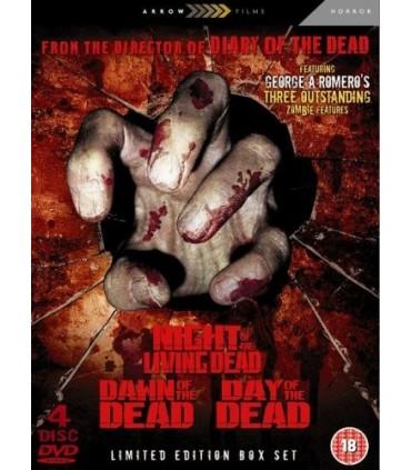 George A Romero's Dead Trilogy (4 DVD)