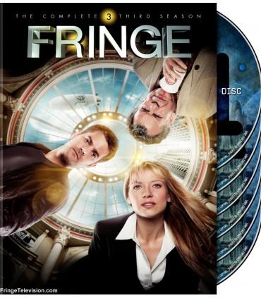 Fringe kausi 3 (DVD) 26.9.
