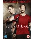 Supernatural - Kausi 6. (6 DVD)