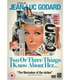 Two or Three Things I Know About Her (1967) DVD