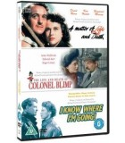 The Life and Death of Colonel Blimp / A Matter of Life and Death / I Know Where I'm Going (3 DVD)