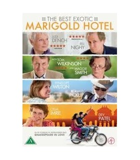 The Best Exotic Marigold Hotel DVD 20.7.